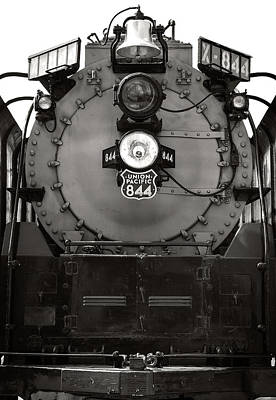 Photograph - Union Pacific 844 by Bud Simpson