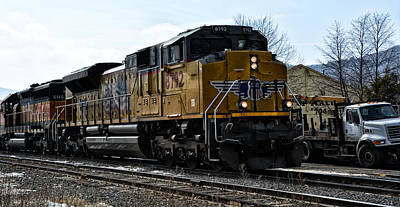 Photograph - Union Pacific 8792 by Mike Martin