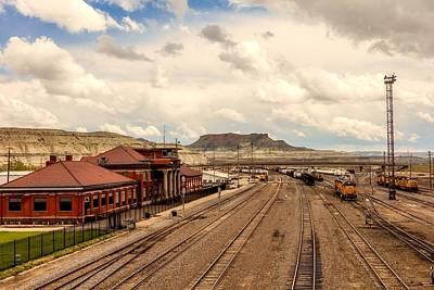 Photograph - Union Pacific Railroad Terminal by L O C