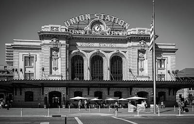 Photograph - Union Station by Tim Stanley