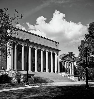 Photograph - University Of Alabama Library by L O C