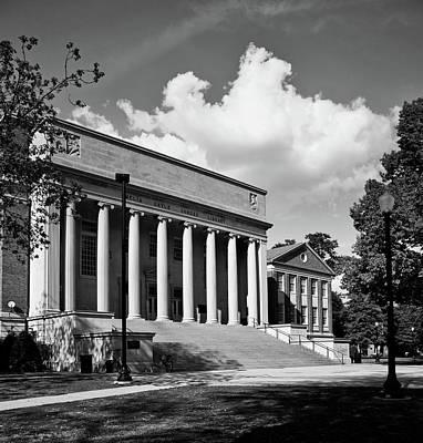 University Of Alabama Library Art Print by L O C