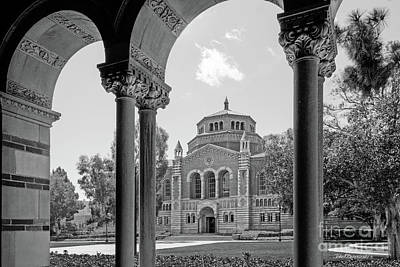 University Of California Los Angeles Powell Library Art Print