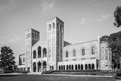 Pacific 12 Conference Photograph - University Of California Los Angeles Royce Hall by University Icons