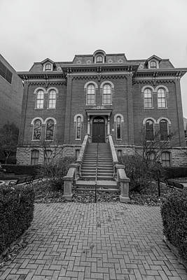Photograph - University Of Illinois Harker Hall  by John McGraw