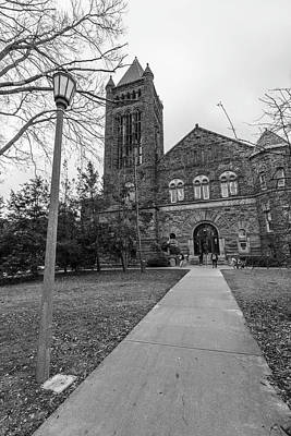 Photograph - University Of Illinois Law Library  by John McGraw