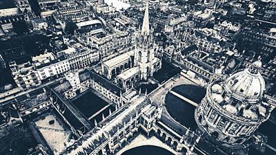 Photograph - University Of Oxford by Unsplash