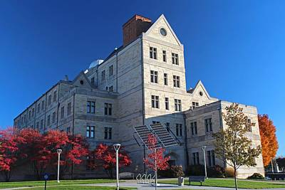 Photograph - University Of Toledo Mcmaster Hall II by Michiale Schneider
