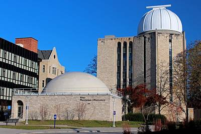 Photograph - University Of Toledo Ritter Planetarium-observatory I by Michiale Schneider