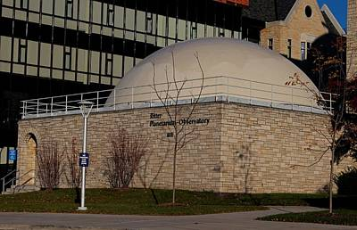 Photograph - University Of Toledo Ritter Planetarium-observatory II by Michiale Schneider