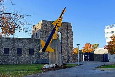 Photograph - University Of Toledo Rocket by Michiale Schneider