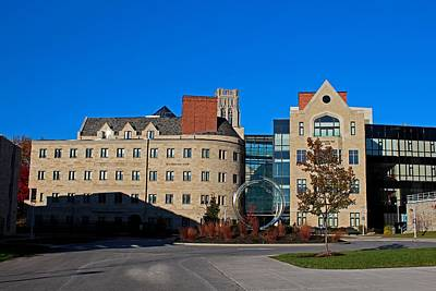 Photograph - University Of Toledo Stranahan North And South Halls I by Michiale Schneider