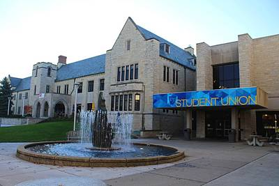 Photograph - University Of Toledo Student Union II by Michiale Schneider