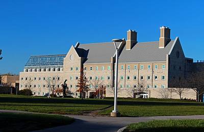 Photograph - University Of Toledo Wolfe Hall by Michiale Schneider