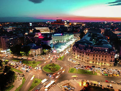 Photograph - University Square, Bucharest by Chris M