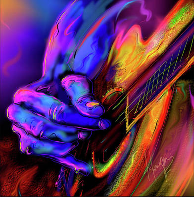 Painting - Unplugged by DC Langer