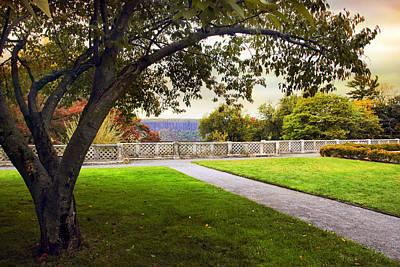 Rural Digital Art - Untermyer Garden by Jessica Jenney