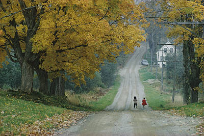 Maine Roads Photograph - Untitled by B. Anthony Stewart