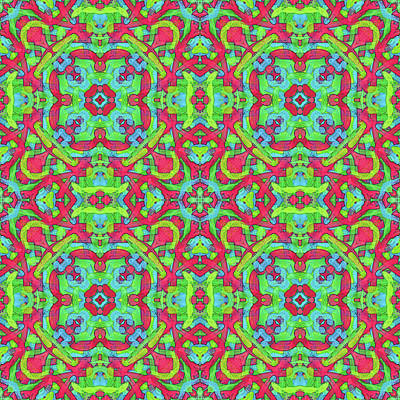 Digital Art - Untitled -b- Soup -multi-pattern- by Coded Images