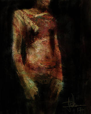 Digital Art - Untitled Figure by Jim Vance