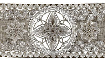 Drawing - Harvest Knot by Michele Bullock