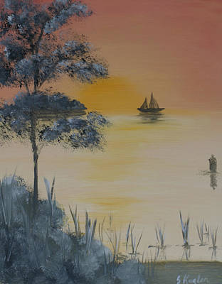 Water Bouys Painting - Untitled by Scott Kugler
