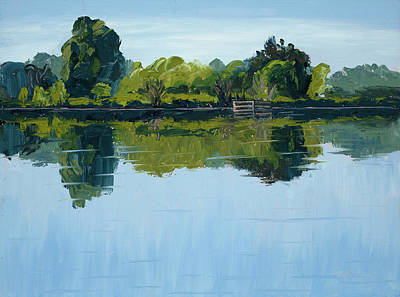 Loveland Painting - Stillness by Mary Giacomini