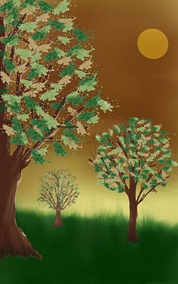 Digital Art - Untitled Tree by Denny Casto