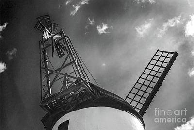 Photograph - Unusual View Of Windmill - St Annes - England by Doc Braham