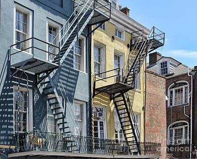 Photograph - Up The Stairs by Steven Parker