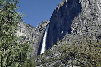 Photograph - Upper Yosemite Falls by Harvey Barrison