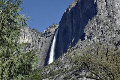 Photograph - Upper Yosemite Falls by Harvey Barrison