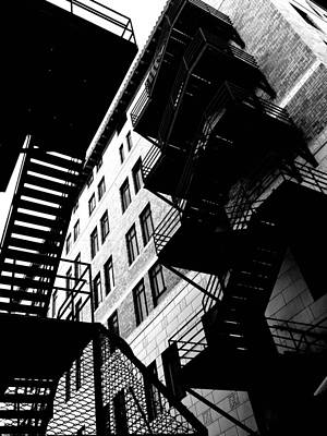 Photograph - Upstairs Downstairs by Mark David Gerson