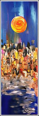 Painting - Uptown by Mac Worthington