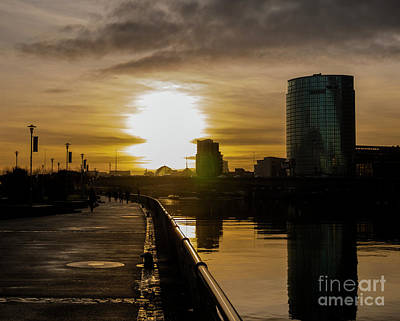 Photograph - Urban Sunset by Jim Orr