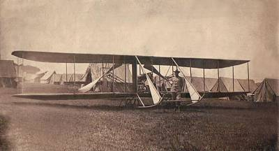 Photograph - Us Army Wright Model B-flyer 1912 by Paul Clinkunbroomer