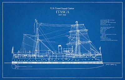 Coast Guard Digital Art - U.s. Coast Guard Cutter Itasca by Jose Elias - Sofia Pereira