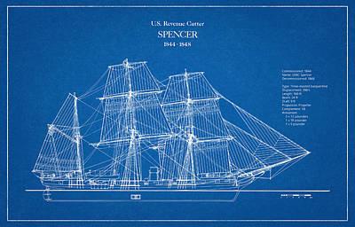 U.s. Coast Guard Revenue Cutter Spencer Art Print