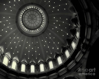 Photograph - U.s. Naval Academy Dome Interior by Jerry Fornarotto