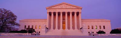 Us Supreme Court Building, Washington Art Print by Panoramic Images