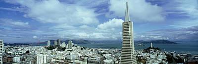 Usa, California, San Francisco, Skyline Art Print