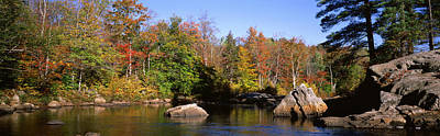 Clear Sky Photograph - Usa, New York, Adirondack State Park by Panoramic Images
