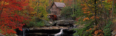 Usa, West Virginia, Glade Creek Grist Art Print by Panoramic Images
