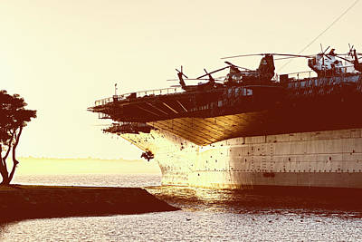 Photograph - Uss Midway by Joseph S Giacalone