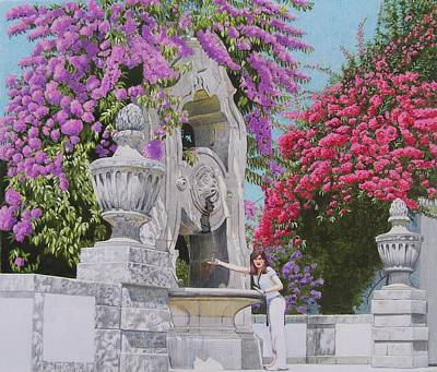 Art Print featuring the mixed media Vacation In Portugal by Constance Drescher