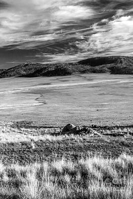 Photograph - Valles Caldera National Preserve by Roselynne Broussard