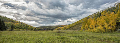 Photograph - Valley Of Autumn by Jon Glaser
