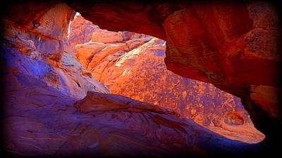 Photograph - Valley Of Fire by Donna Spadola