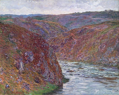 Painting - Valley Of The Creuse by Claude Monet