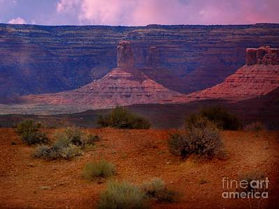 Digital Art - Valley Of The Gods by Annie Gibbons